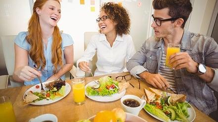 il buono pasto riduce i costi aziendali